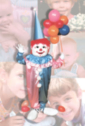 Facemakers Clown Mascot Costumes