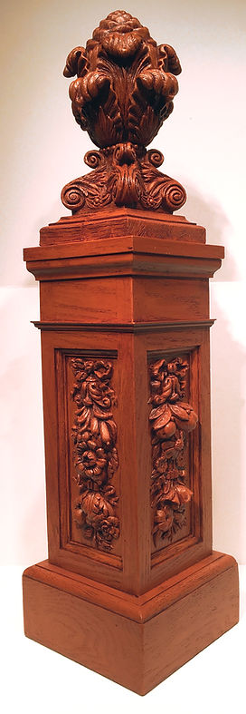 Enjoy these intricately detailed Titanic Newel Post replicas in your own home.