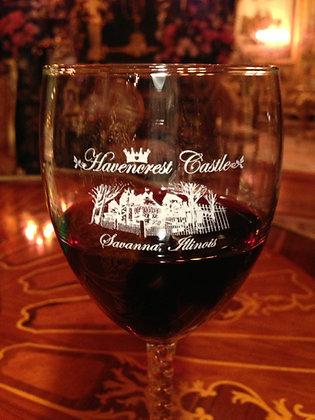 Havencrest Castle Wine Glass