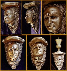 Houdini Wall Shelf for sale by Alan St George