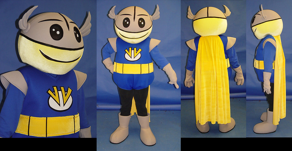Facemakers Space Mascot Costumes