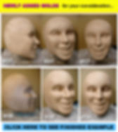 Facemakers female mascot heads 2