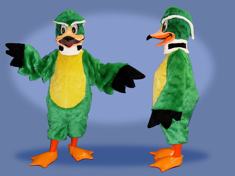 Facemakers Wood Duck Mascot Costumes