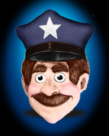Facemakers Policeman Mascot Costumes