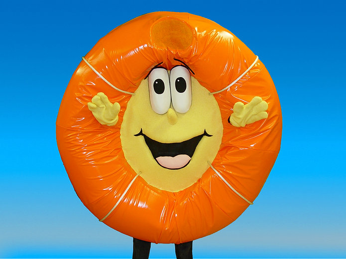 Facemakers Life Preserver Mascot Costumes
