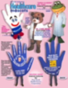 Facemakers Pediatrics Mascot Costumes