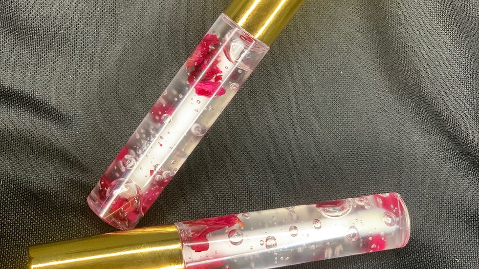 Rose Infused Lip Gloss