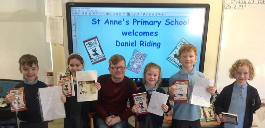 Competition winners for a writing contest I did with the children. So many talented young writers.