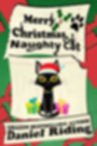 merry christmas naughty cat psd cover.jp