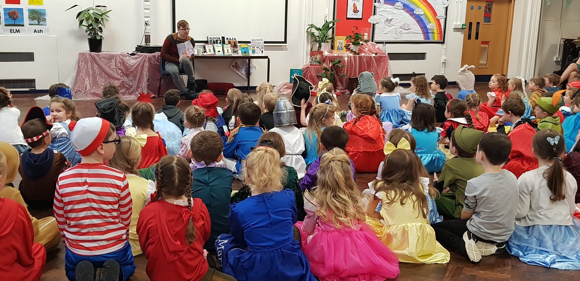 Reading from 'Unicorn Friends: A Magical Beginning.'