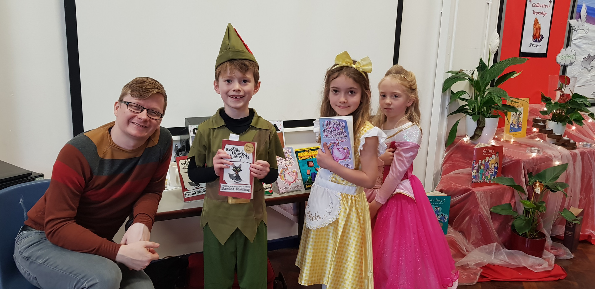 Some fab kids and their great costumes for World Book Day 2019