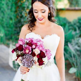 scottsdale bride_bridal bouquet