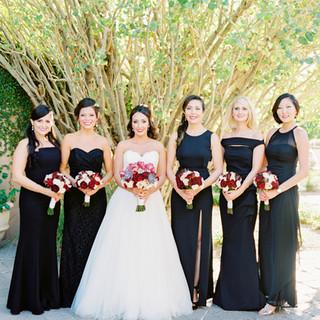 bridal party_scottsdale wedding