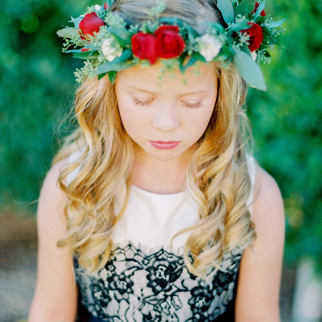 flower crown_flower girl_scottsdale wedd