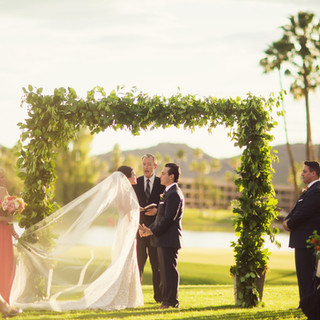 ceremony flowers_scottsdale wedding