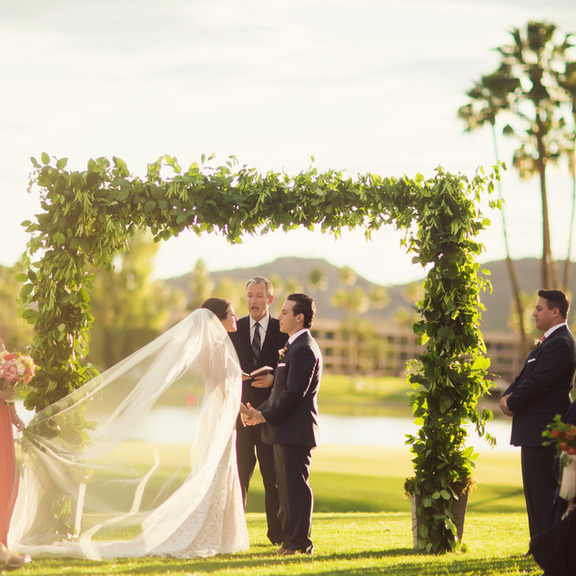 ceremony flowers_scottsdale wedding