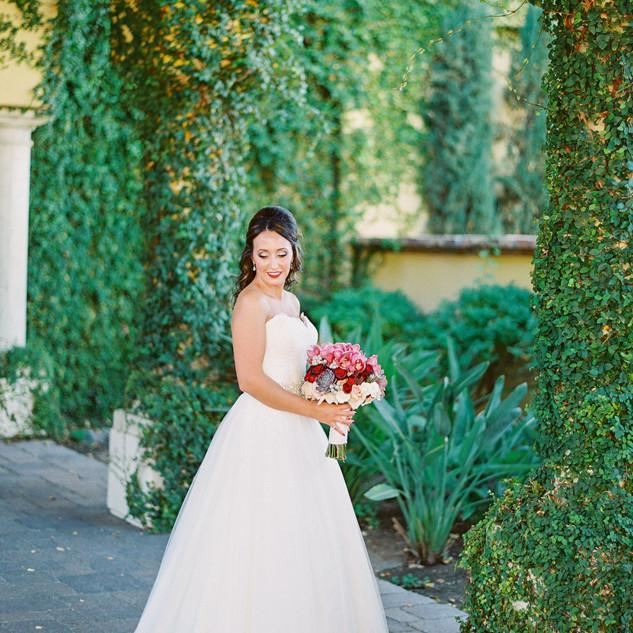 scottsdale wedding_bride bouquet