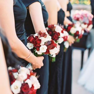 bridesmaid bouquet_phoenix wedding flori
