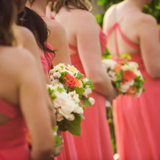 bridesmaid bouquet_spring wedding