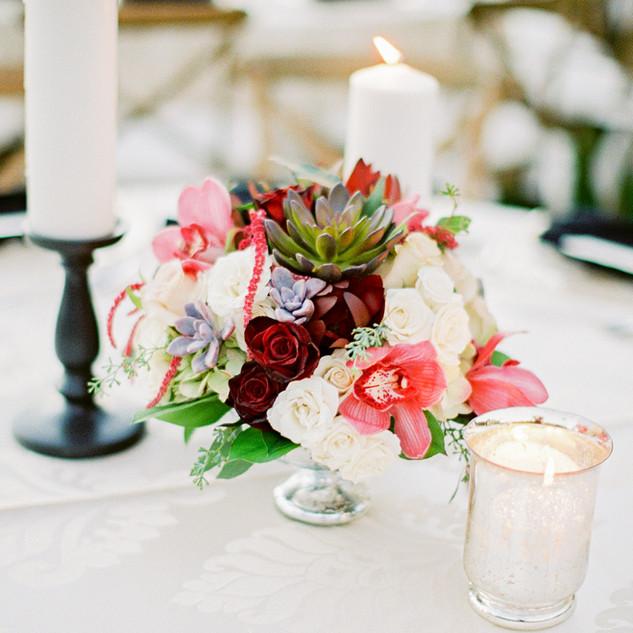 succulent centerpiece_scottsdale wedding