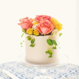 cake flowers_spring wedding