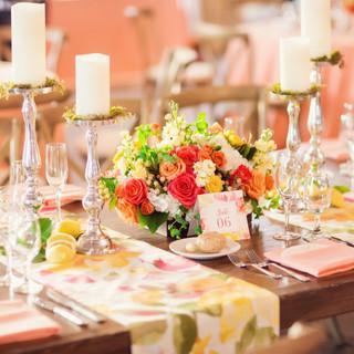 spring wedding_wedding centerpiece_scott