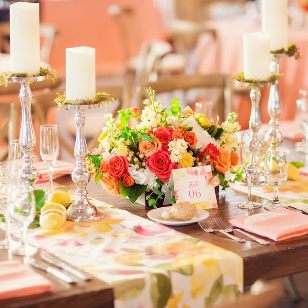 spring wedding_wedding centerpiece_scott