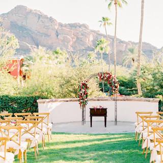 camelback mountain - outdoor wedding sco