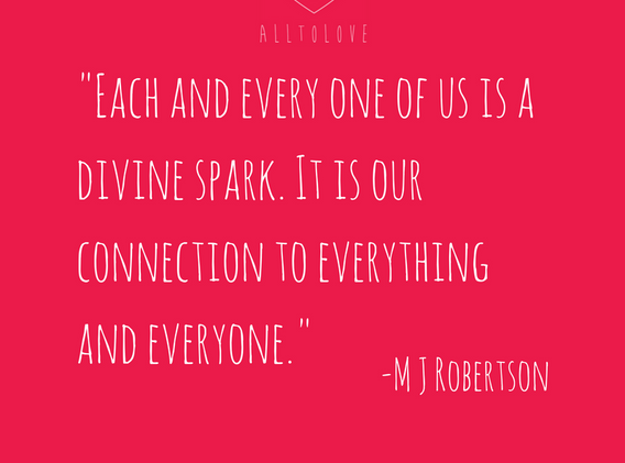 Each and every one of us is a divine spa