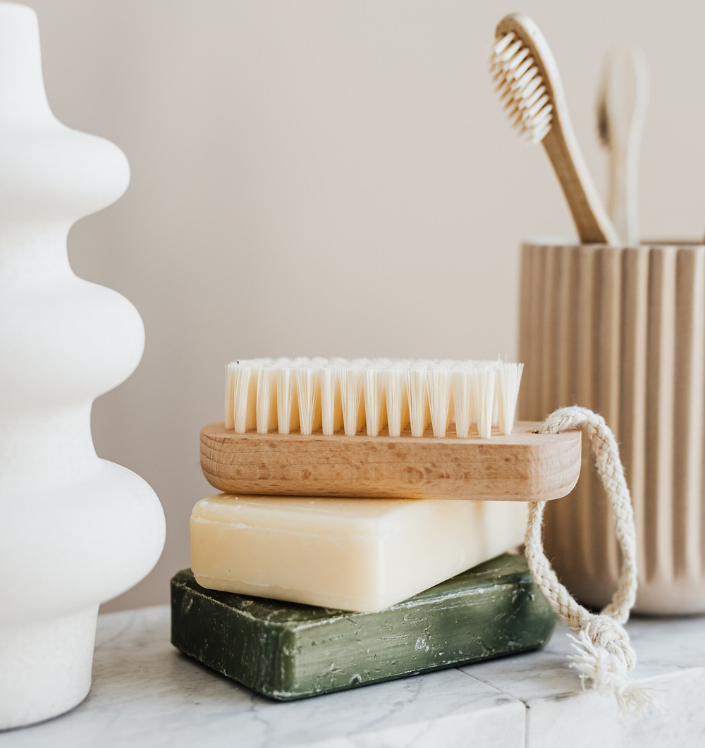 zero waste tooth brush and soap