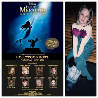 Little Mermaid at the Hollywood Bowl