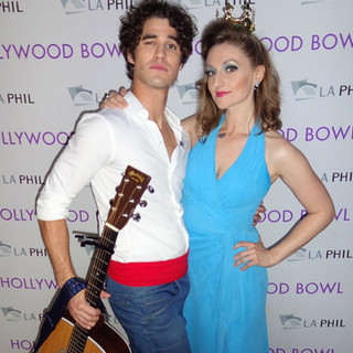Little Mermaid at the Hollywood Bowl with Darren Criss