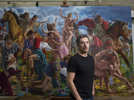 Cree Visual Artist Depicts Truth on Indigenous History