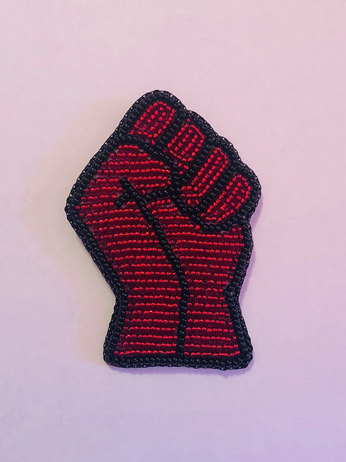 Beaded Resistance Fist