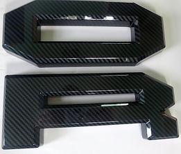F150 Raptor Carbon Look Grille Letters.J