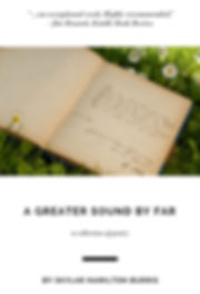 A Greater Sound by Far: a collection of poems by Skylar Hamilton Burris