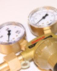 Indicador de presión de gas