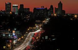 Memphis night skyline