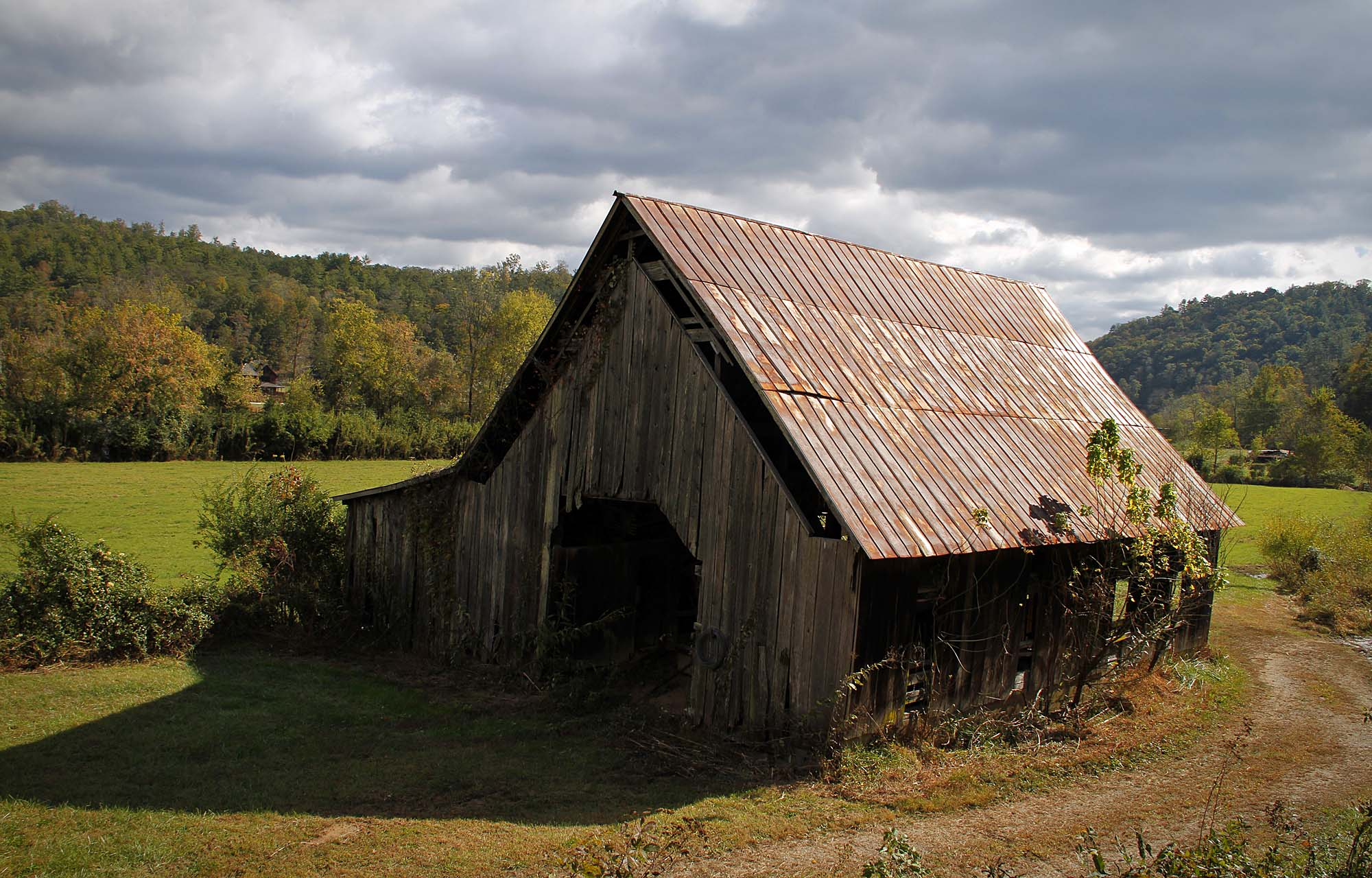 Barn at Reliance, Tennessee