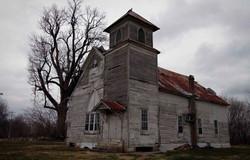 Rural church in MIssissippi Delta