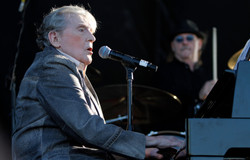 Jerry Lee Lewis on stage in Memphis
