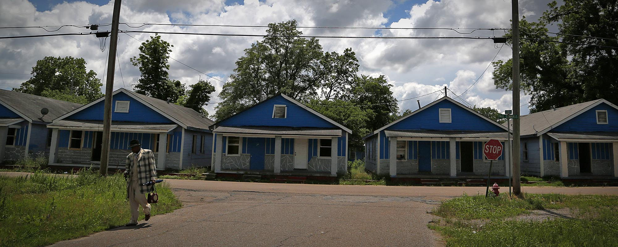 The blues in Clarksdale, Mississippi