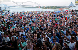 Beale Street Music Festival crowd