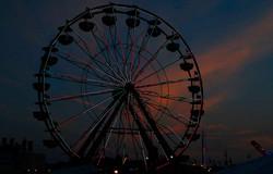 Delta Fair Ferris wheel