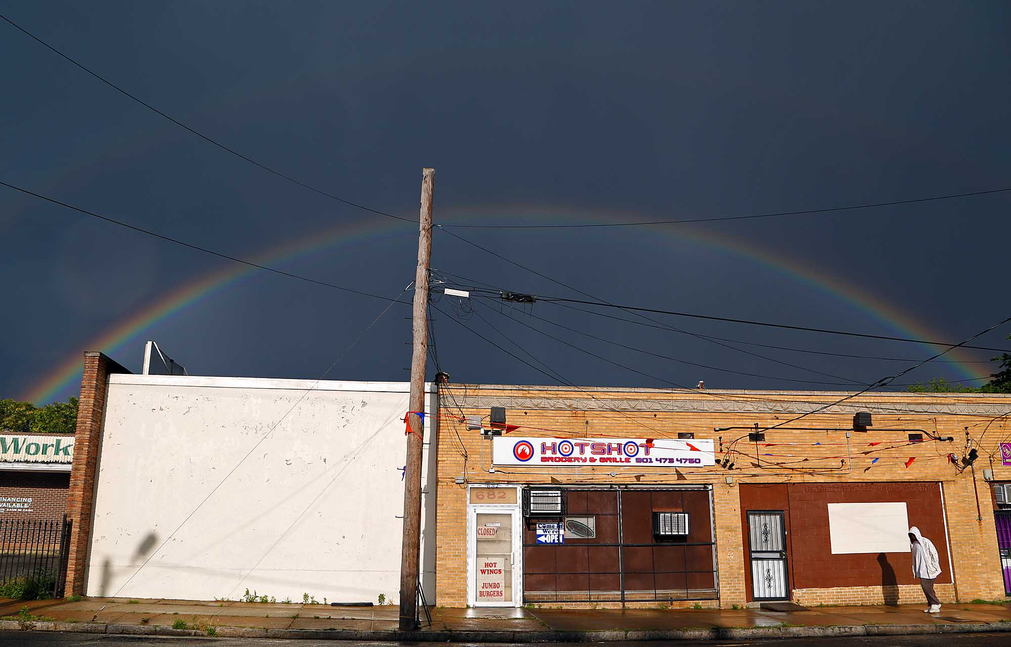 Crump Boulevard rainbow, Memphis