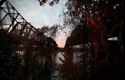 Frisco and Harahan bridges, Memphis
