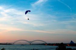 Mississippi River Paraglider