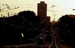 Madison Avenue trolley tracks