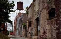 Alley in Helena, Arkansas