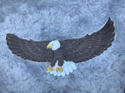 Eagle Stamped Concrete